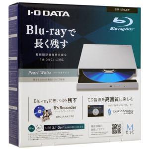 【中古】I-O DATA アイ・オー・データ製 ポータブルBlu-rayドライブ BRP-UT6LEW 元箱あり|excellar