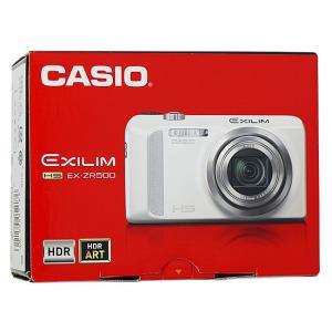 CASIO製 EXILIM EX-ZR500WE ホワイト 1610万画素