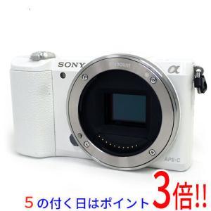 【中古】SONY デジタル一眼 α5100 ボディ ILCE-5100/W ホワイト|excellar
