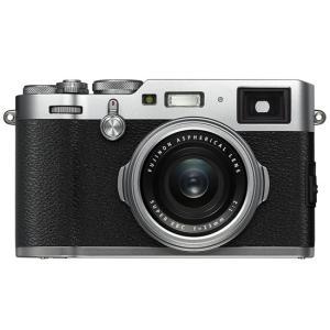 【中古】FUJIFILM デジタルカメラ X100F-S シルバー 2430万画素 元箱あり|excellar