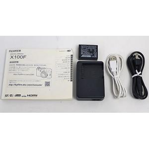 【中古】FUJIFILM デジタルカメラ X100F-S シルバー 2430万画素 元箱あり|excellar|02