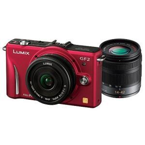 Panasonic LUMIX DMC-GF2W-R ダブル...