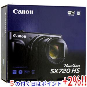【商品名:】【中古】Canon製 PowerShot SX720 HS レッド 2030万画素 元箱...