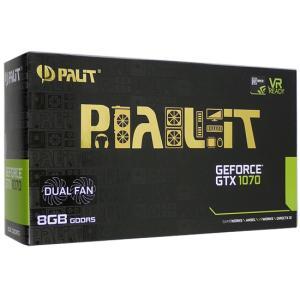 PALIT GTX1070 8GB DUAL NE51070015P2-1043D PCIExp 8GB 元箱あり excellar