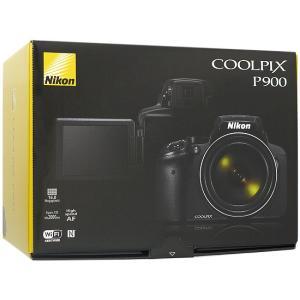 【商品名:】【中古】Nikon製 デジカメ COOLPIX P900 ブラック/1605万画素 元箱...