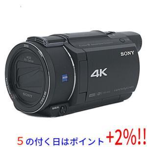 【中古】SONY製 デジタル4Kビデオカメラレコーダー FDR-AX60/B 元箱あり|excellar