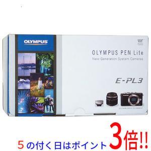 【中古】OLYMPUS マイクロ一眼 E-PL3 レンズキット RED 元箱あり|excellar