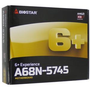 【中古】BIOSTAR製 Mini ITXマザーボード A68N-5745 元箱あり excellar