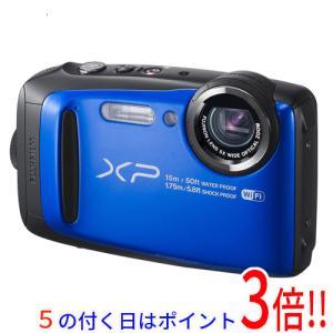 【商品名:】【中古】FUJIFILM FinePix XP90 ブルー/1640万画素 未使用 / ...