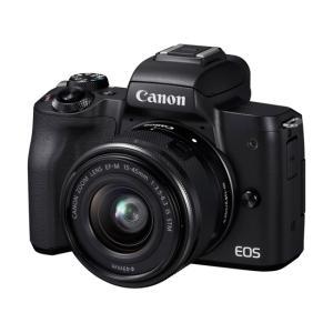 【商品名:】【中古】Canon製 ミラーレス一眼カメラ EOS Kiss M EF-M15-45 I...