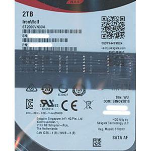 【キャッシュレスで5%還元】【中古】SEAGATE製HDD ST2000VN004 2TB SATA...