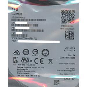 【キャッシュレスで5%還元】【中古】SEAGATE製HDD ST1000VN002 1TB SATA600 5900 1000〜2000時間以内|excellar
