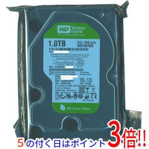 【キャッシュレスで5%還元】【中古】Western Digital製HDD WD10EADS 1TB SATA300 200〜500時間以内|excellar