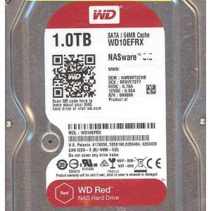 【キャッシュレスで5%還元】【中古】Western Digital製HDD WD10EFRX 1TB SATA600 0〜100時間以内|excellar