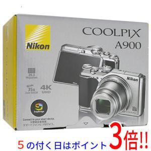 【商品名:】【中古】Nikon デジカメ COOLPIX A900SL シルバー 2029万画素 本...