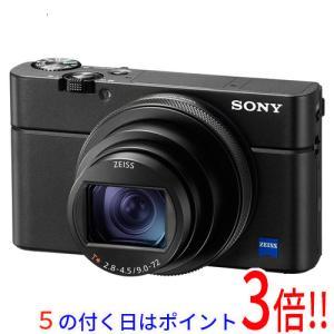 【商品名:】【中古】SONY製 デジタルスチルカメラ サイバーショット ブラック DSC-RX100...