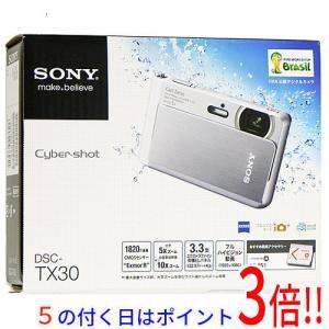 【商品名:】【中古】SONY製 Cyber-shot DSC-TX30 オレンジ/1820万画素 元...