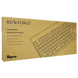 【商品名:】【中古】東プレ USBキーボード Realforce108UH-S SA010S 元箱あ...
