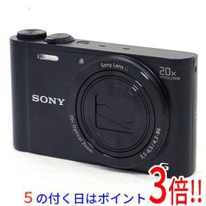 【商品名:】【中古】SONY製 Cyber-shot DSC-WX300 ブラック/1820万画素 ...