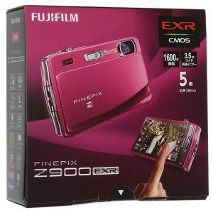 【キャッシュレスで5%還元】【中古】FUJIFILM FinePix Z900EXR ピンク/160...