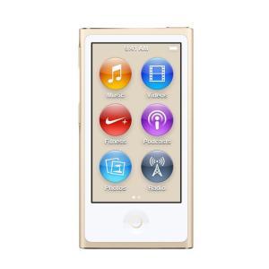 【キャッシュレスで5%還元】Apple 第7世代 iPod nano MKMX2J/A ゴールド/16GB|excellar