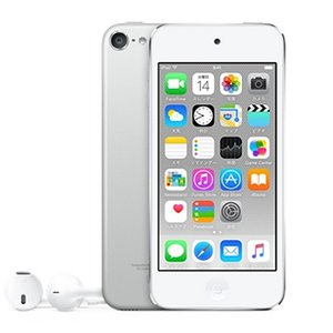Apple 第6世代 iPod touch MKH42J/A シルバー/16GB|excellar