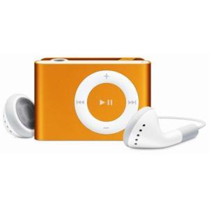 【キャッシュレスで5%還元】【中古】Apple 第2世代 iPod shuffle MA953J/A オレンジ/1GB 未使用|excellar