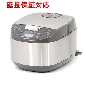 【キャッシュレスで5%還元】SHARP ジャー炊飯器 シルバー系 KS-S10J-S
