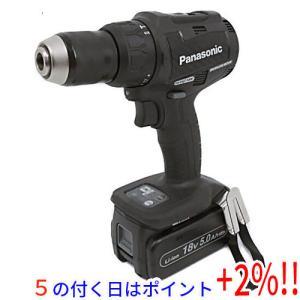 【キャッシュレスで5%還元】Panasonic 充電振動ドリル&ドライバー 18V 5.0Ah EZ79A2LJ2G-B|excellar