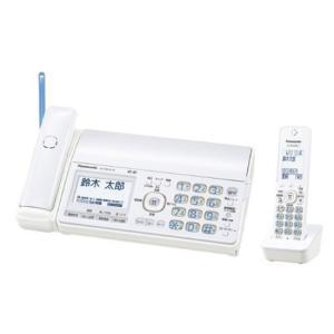 Panasonic コードレス普通紙ファクス KX-PD552DL-W 新品の商品画像