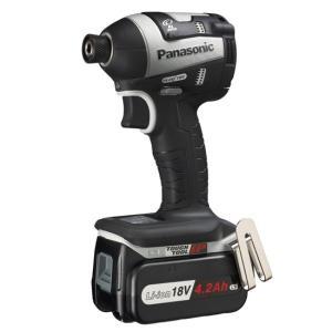 【キャッシュレスで5%還元】Panasonic 充電式インパクトドライバー EZ75A7LS2G-H|excellar