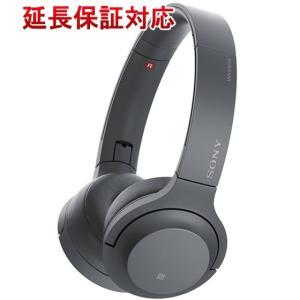 SONY ワイヤレスヘッドホン h.ear on 2 Mini Wireless WH-H800(B) グレイッシュブラック|excellar