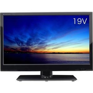エスキュービズム通商 19V型 LED液晶テレビ AT-19C01SR|excellar