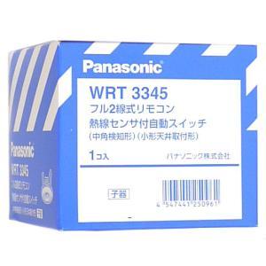 Panasonic フル2線式リモコン熱線センサ付自動スイッチ WRT3345|excellar
