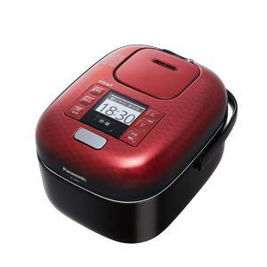Panasonic 圧力IHジャー炊飯器 3合 おどり炊き SR-JX056-K 豊穣ブラック|excellar