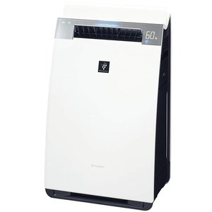 SHARP プラズマクラスター25000搭載 加湿空気清浄機 KI-HX75-W ホワイト|excellar