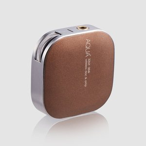 NEXUM ワイヤレスヘッドホンアンプ AQUA+ Sublime Gold|excellar