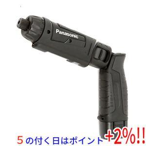 Panasonic 充電スティックドリルドライバー 7.2V EZ7421LA2S-B 黒|excellar