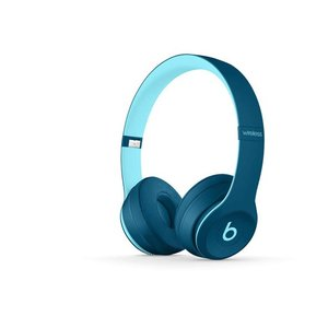 beats by dr.dre ヘッドホン Solo3 Wireless Pop Collection MMRRH2PA/A Popブルー|excellar