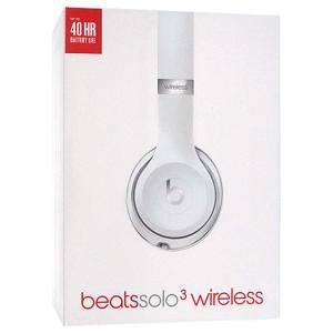 beats by dr.dre ヘッドホン Solo3 Wireless サテンシルバー MUH52...