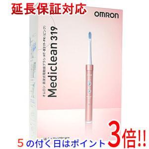 【商品名:】OMRON 音波式電動歯ブラシ メディクリーン HT-B319-PK ピンク / 【商品...