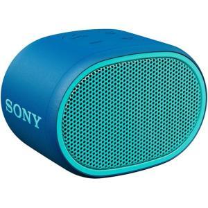 SONY ワイヤレスポータブルスピーカー SRS-XB01(L) ブルー|excellar