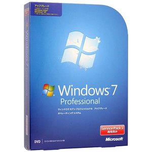 Windows 7 Professional アップグレード版 SP1|excellar