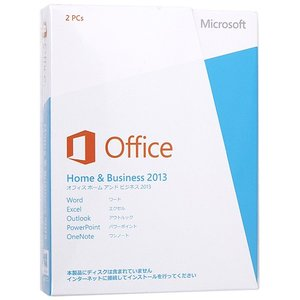 Office Home and Business 2013△新品未開封【訳あり】