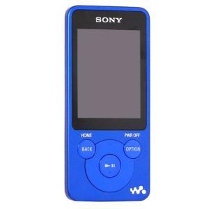 【中古】SONYウォークマン NW-E083 ブルー/4GB|excellar