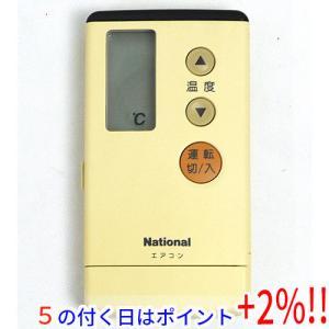 【中古】National エアコンリモコン A75C577 excellar