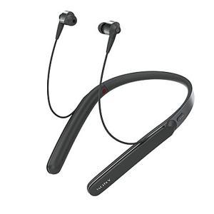 【中古】SONY ワイヤレスノイズキャンセリングステレオヘッドセット WI-1000X(B) ブラック 本体のみ|excellar