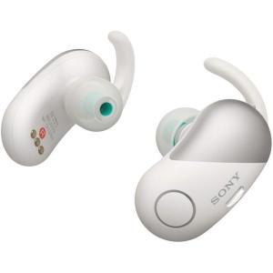 【中古】SONY 完全ワイヤレスノイズキャンセリングイヤホン WF-SP700N (W) ホワイト|excellar