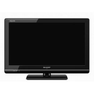 【中古】SHARP 22V型 LED液晶テレビ AQUOS LC-22K7-B リモコンなし|excellar