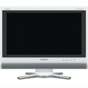 【中古】SHARP 20V型 ハイビジョン液晶テレビ AQUOS LC-20D50-W ホワイト リモコンなし|excellar